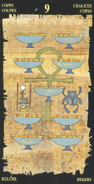 Девятка Чаш. Египетское Таро