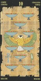 Десятка Чаш. Египетское Таро