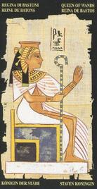Королева Жезлов. Египетское Таро