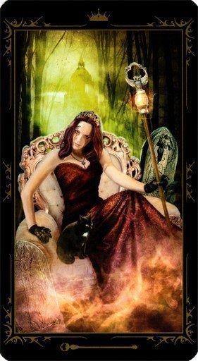 Королева Жезлов. Колода Таро Темных Сказок