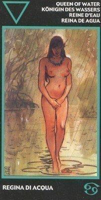 Королева Масти Земли. Колода Таро Манара
