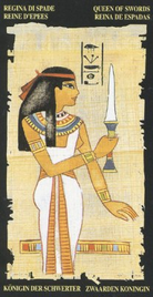 Королева Мечей. Египетское Таро