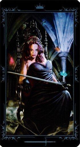 Королева Мечей. Колода Таро Темных Сказок