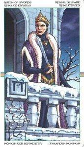 Королева Мечей. Таро Колесо Года