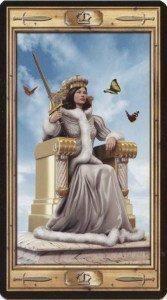 Королева Мечей. Таро Универсальный Ключ