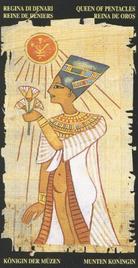 Королева Пентаклей. Египетское Таро