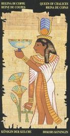 Королева Чаш. Египетское Таро