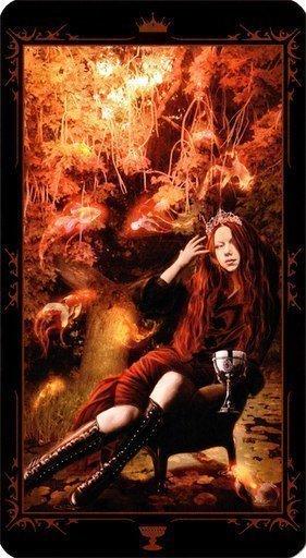 Королева Чаш. Колода Таро Темных Сказок
