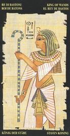 Король Жезлов. Египетское Таро