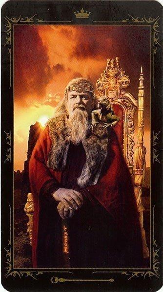 Король Жезлов. Колода Таро Темных Сказок