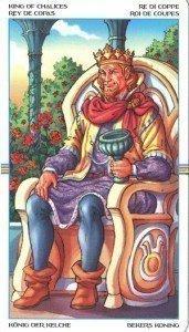 Король Кубков. Таро Колесо Года