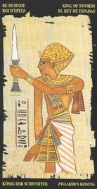 Король Мечей. Египетское Таро