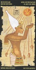 Король Пентаклей. Египетское Таро