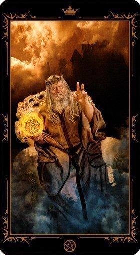 Король Пентаклей. Колода Таро Темных Сказок