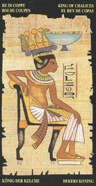 Король Чаш. Египетское Таро