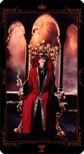 Король Чаш. Колода Таро Темных Сказок