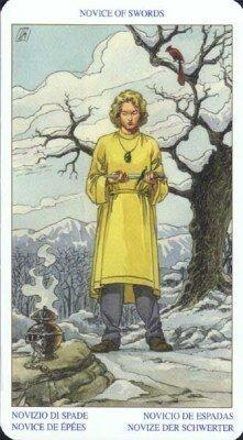 Новичок (Рыцарь) Мечей. Колода Языческого Таро (Белой и Черной магии)