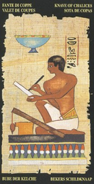 Паж Чаш. Египетское Таро