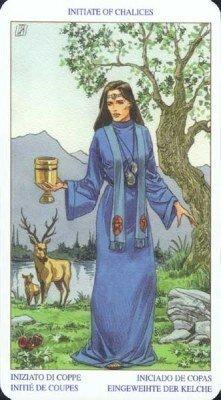 Посвященный (Королева) Чаш. Колода Языческого Таро (Белой и Черной магии)