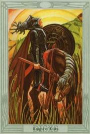 Рыцарь Дисков. Таро Тота Алистера Кроули