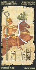 Рыцарь Жезлов. Египетское Таро