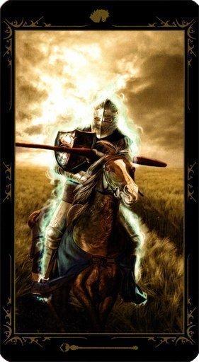 Рыцарь Жезлов. Колода Таро Темных Сказок