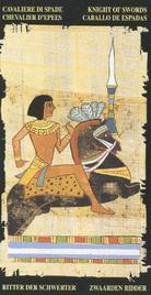Рыцарь Мечей. Египетское Таро