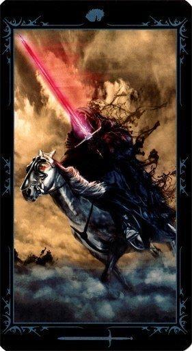 Рыцарь Мечей. Колода Таро Темных Сказок
