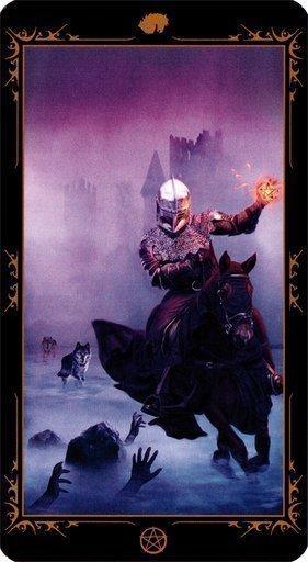 Рыцарь Пентаклей. Колода Таро Темных Сказок