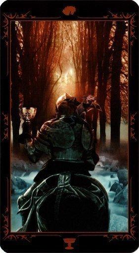 Рыцарь Чаш. Колода Таро Темных Сказок