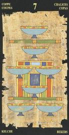Семерка Чаш. Египетское Таро