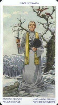 Старший (Король) Мечей. Колода Языческого Таро (Белой и Черной магии)