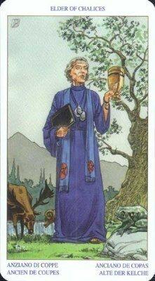 Старший (Король) Чаш. Колода Языческого Таро (Белой и Черной магии)