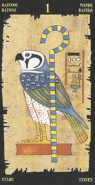 Туз Жезлов. Египетское Таро