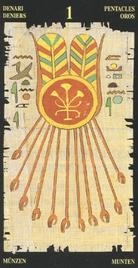 Туз Пентаклей. Египетское Таро