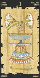 Туз Чаш. Египетское Таро