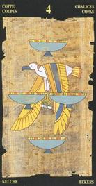 Четверка Чаш. Египетское Таро