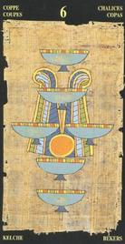 Шестерка Чаш. Египетское Таро