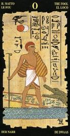0 Дурак. Египетское Таро