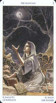 1 Маг. Колода Языческого Таро (Белой и Черной магии)