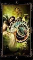 10 Колесо (Судьба). Колода Таро Темных Сказок