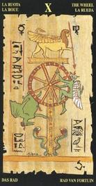 10 Колесо Фортуны. Египетское Таро
