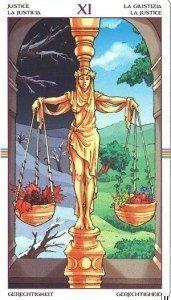 11 Справедливость. Таро Колесо Года