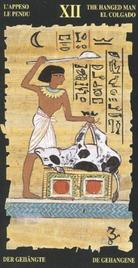 12 Повешенный. Египетское Таро