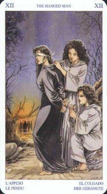 12 Повешенный. Колода Языческого Таро (Белой и Черной магии)