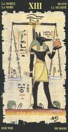 13 Смерть. Египетское Таро
