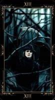 13 Смерть. Колода Таро Темных Сказок