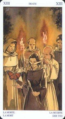 13 Смерть. Колода Языческого Таро (Белой и Черной магии)
