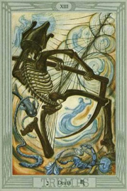 13 Смерть. Таро Тота Алистера Кроули