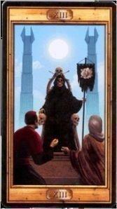 13 Смерть. Таро Универсальный Ключ